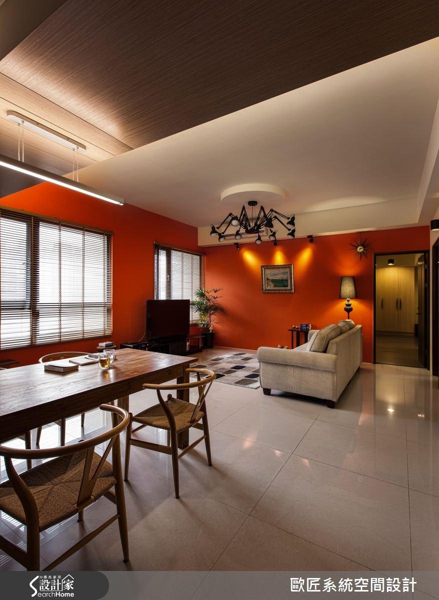 40坪新成屋(5年以下)_混搭風案例圖片_歐匠系統空間設計_歐匠_05之4