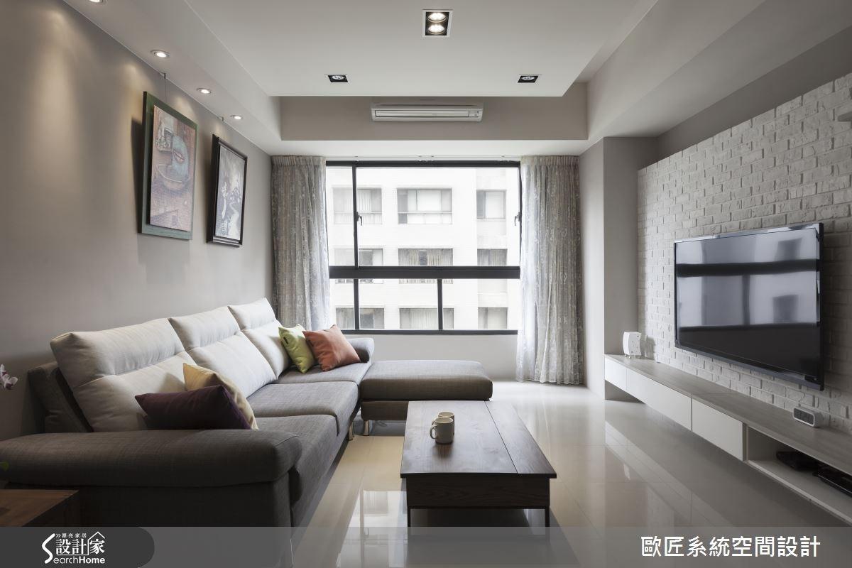 30坪新成屋(5年以下)_簡約風案例圖片_歐匠系統空間設計_歐匠_12之1