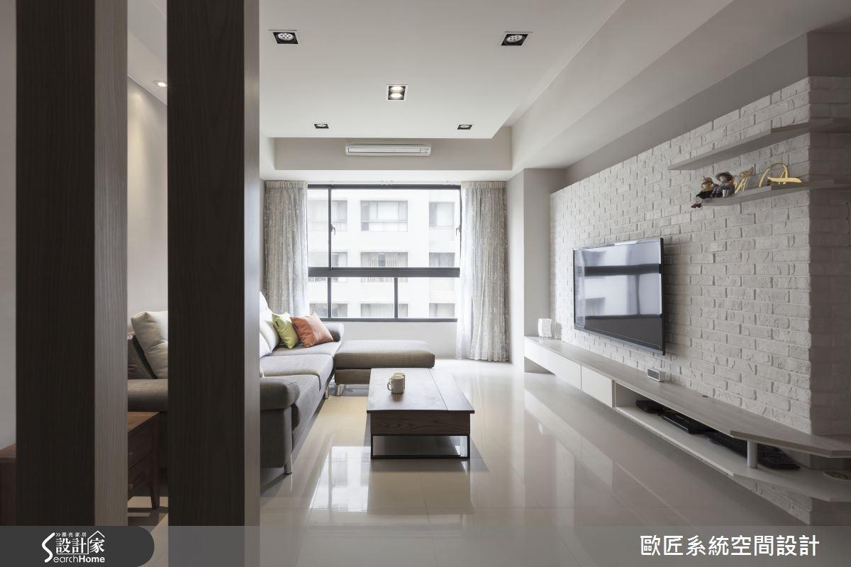 30坪新成屋(5年以下)_簡約風案例圖片_歐匠系統空間設計_歐匠_12之2