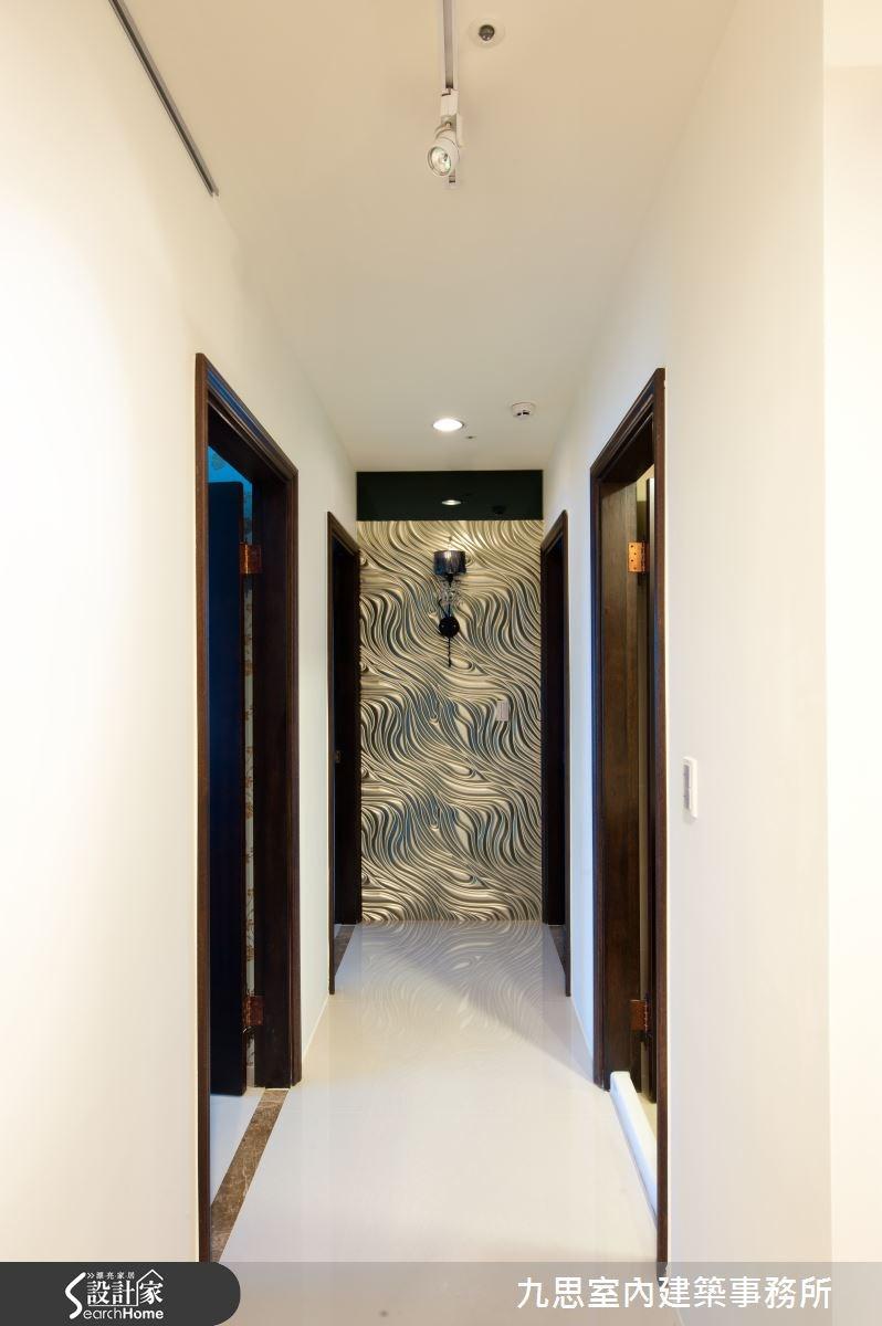 60坪新成屋(5年以下)_休閒風走廊案例圖片_九思室內建築事務所_九思_04之13