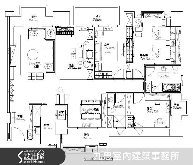60坪新成屋(5年以下)_休閒風案例圖片_九思室內建築事務所_九思_04之14