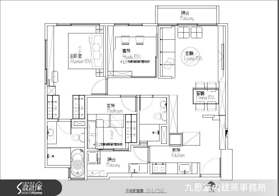 22坪新成屋(5年以下)_簡約風案例圖片_九思室內建築事務所_九思_09之19