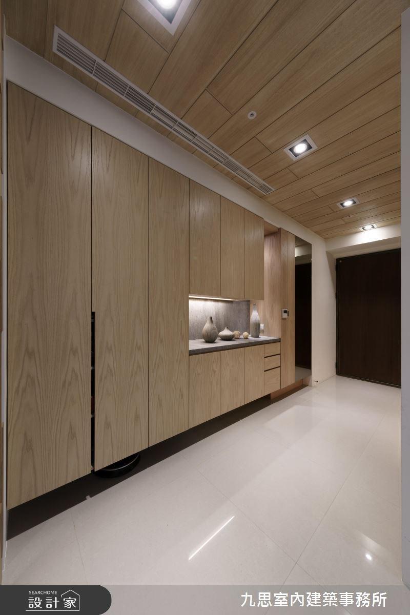 45坪新成屋(5年以下)_現代風玄關案例圖片_九思室內建築事務所_九思_11之1