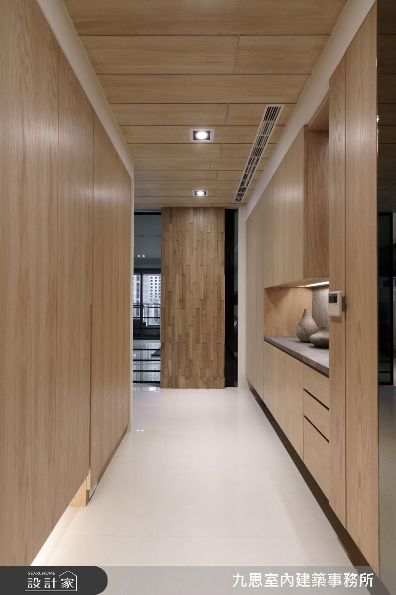 45坪新成屋(5年以下)_現代風玄關案例圖片_九思室內建築事務所_九思_11之2