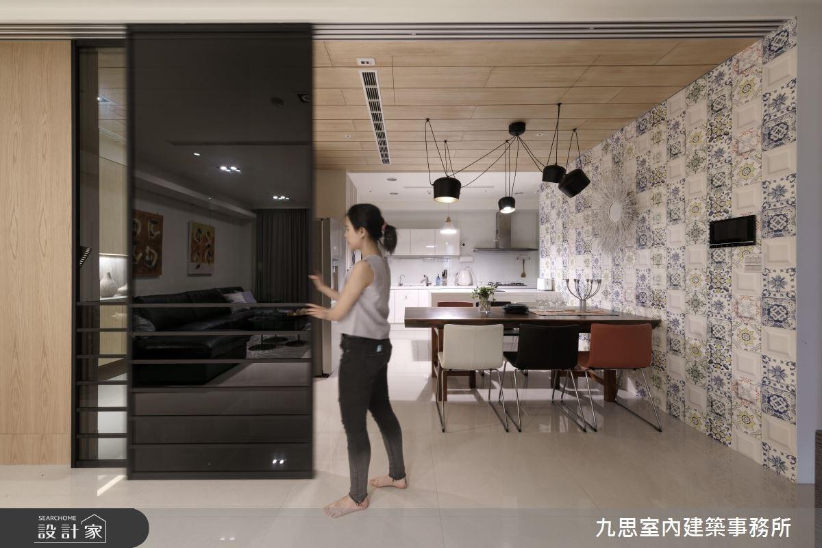 45坪新成屋(5年以下)_現代風客廳案例圖片_九思室內建築事務所_九思_11之4