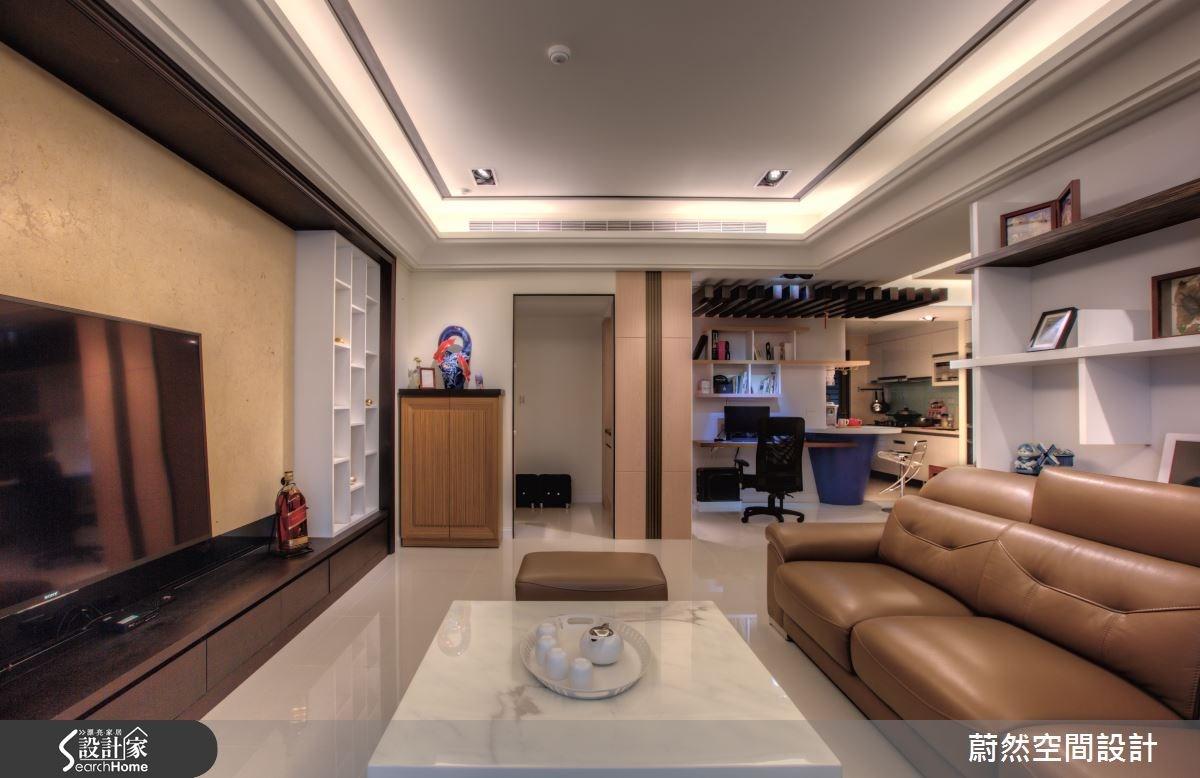 48坪新成屋(5年以下)_混搭風案例圖片_蔚然空間設計有限公司_蔚然_07之21