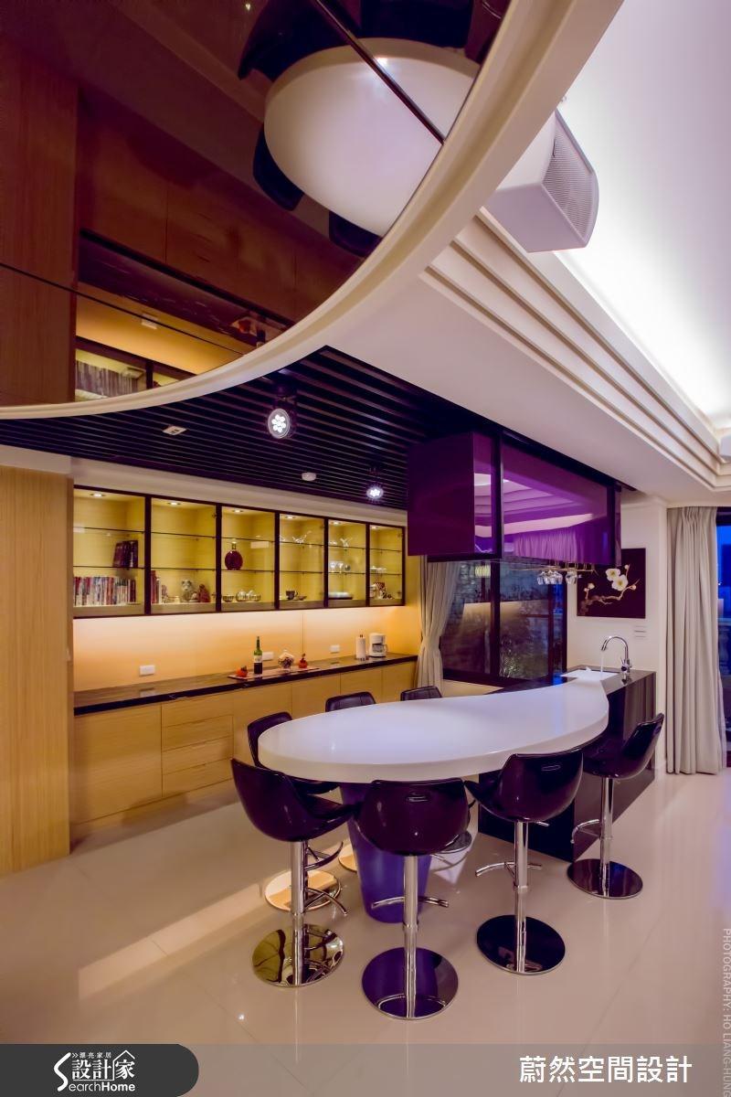 83坪新成屋(5年以下)_混搭風案例圖片_蔚然空間設計有限公司_蔚然_01之5