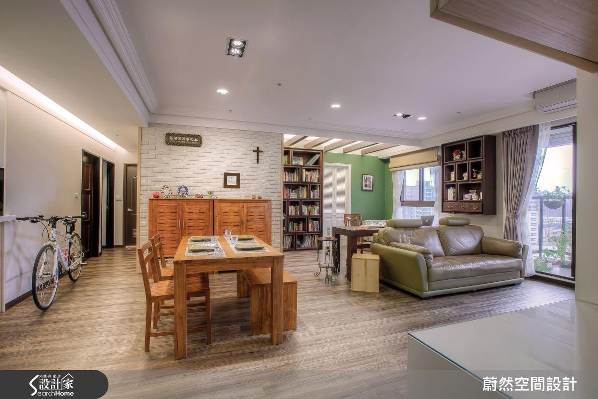 31坪新成屋(5年以下)_美式風案例圖片_蔚然空間設計有限公司_蔚然_08之3