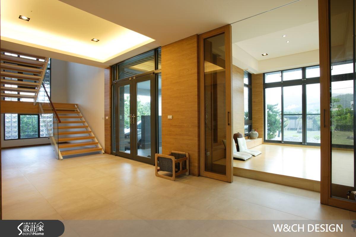 215坪新成屋(5年以下)_混搭風樓梯案例圖片_W&CH 大器國際室內裝修設計_W&CH_01之3