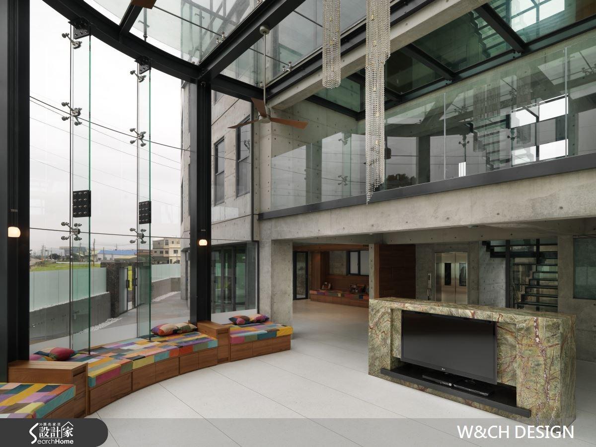 290坪新成屋(5年以下)_簡約風案例圖片_W&CH 大器國際室內裝修設計_W&CH_02之1