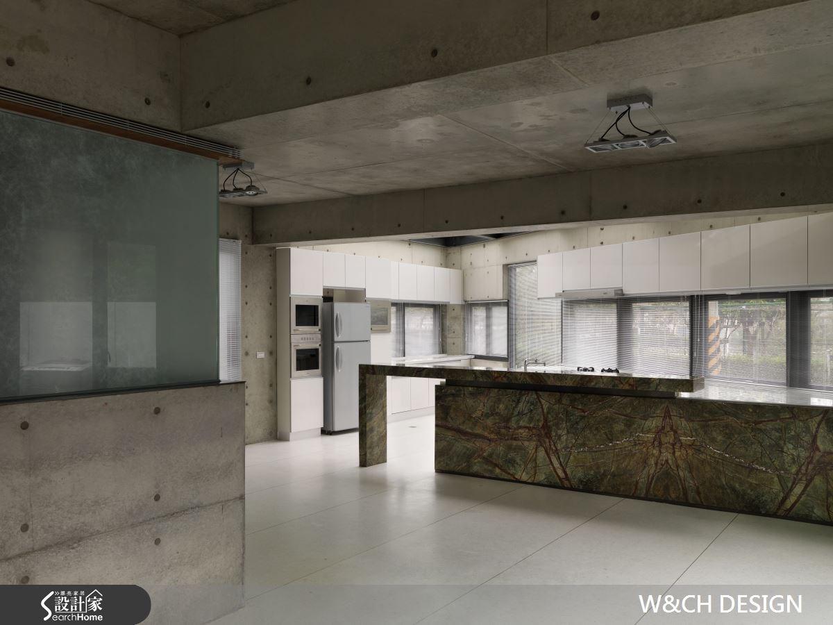 290坪新成屋(5年以下)_簡約風吧檯案例圖片_W&CH 大器國際室內裝修設計_W&CH_02之4