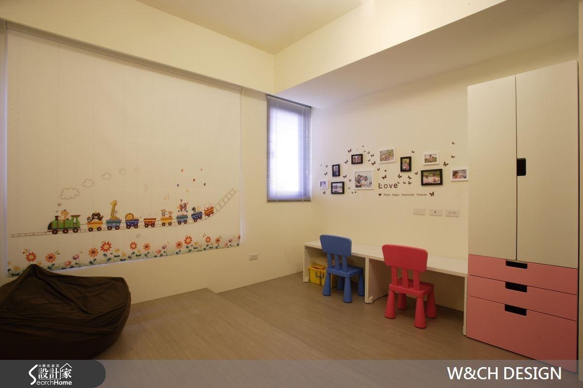 80坪新成屋(5年以下)_休閒風兒童房兒童房案例圖片_W&CH 大器國際室內裝修設計_W&CH_03之17