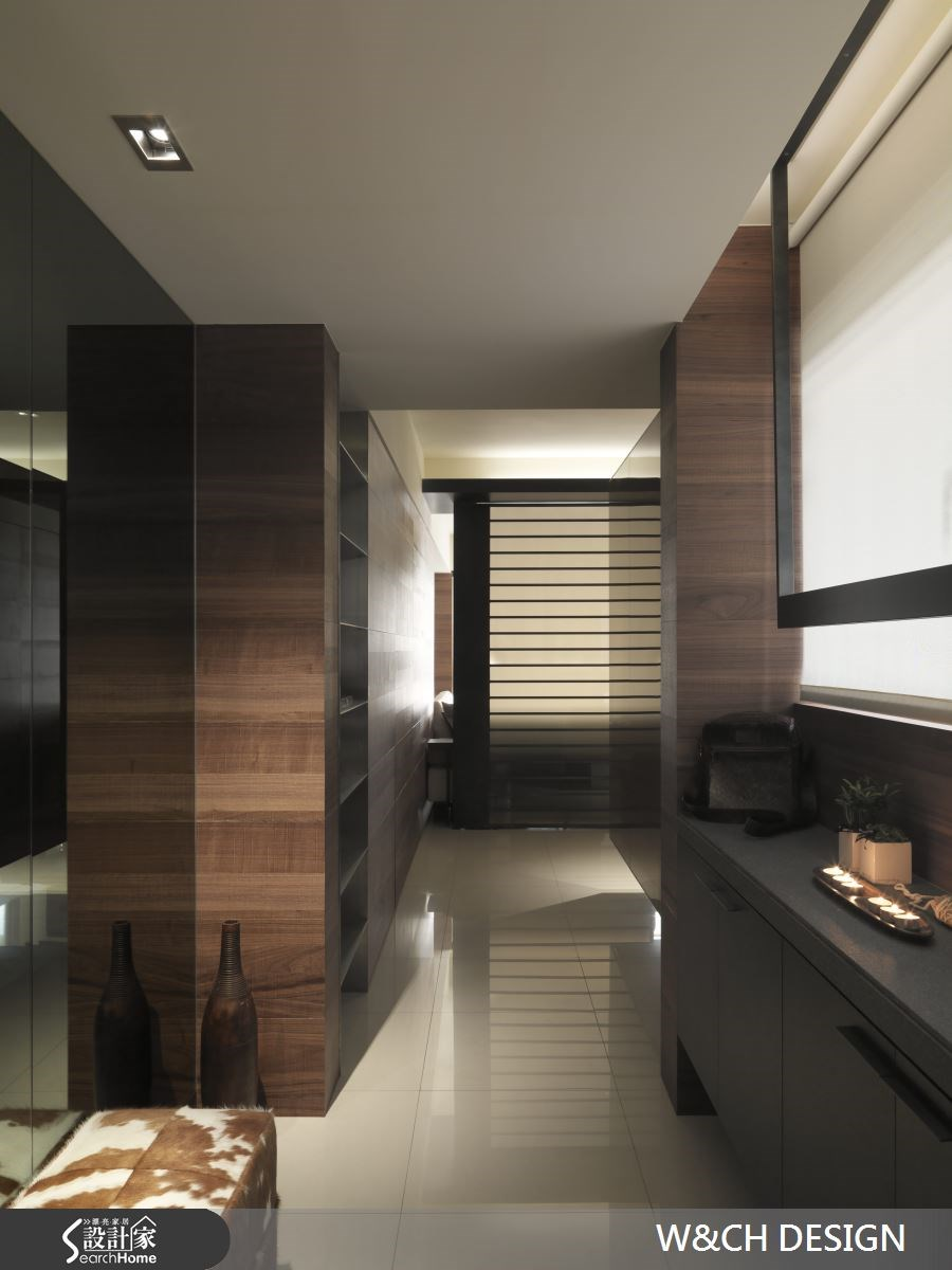 45坪新成屋(5年以下)_休閒風玄關案例圖片_W&CH 大器國際室內裝修設計_W&CH_05之1
