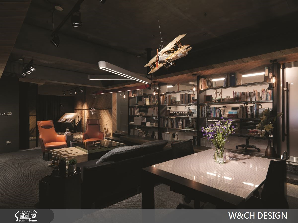 50坪中古屋(5~15年)_工業風商業空間案例圖片_W&CH 大器國際室內裝修設計_W&CH_07之12