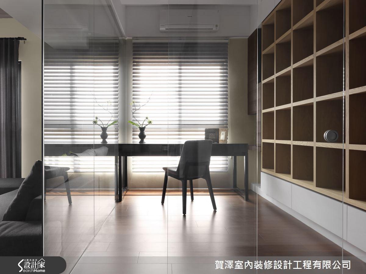 25坪預售屋_現代風書房案例圖片_賀澤室內設計_賀澤_03之4