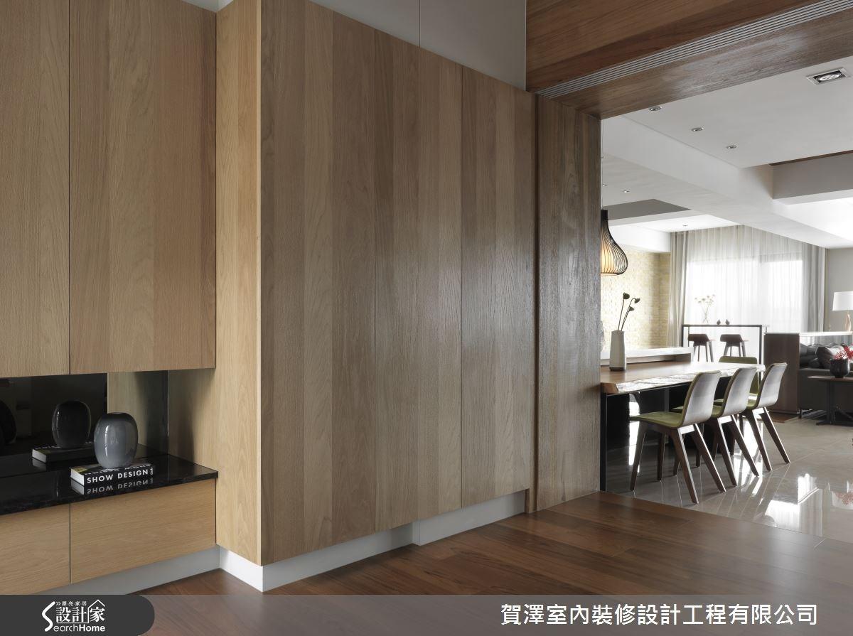 45坪新成屋(5年以下)_休閒風走廊案例圖片_賀澤室內設計_賀澤_04之1