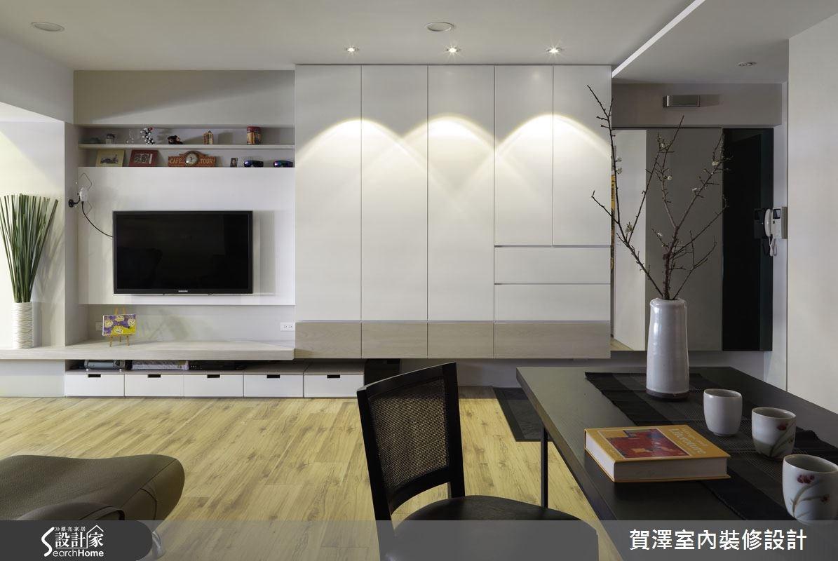 24坪老屋(16~30年)_地中海風客廳案例圖片_賀澤室內設計_賀澤_05之3