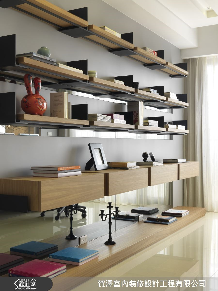 65坪新成屋(5年以下)_混搭風案例圖片_賀澤室內設計_賀澤_07之1