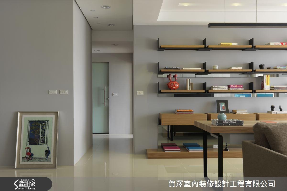 65坪新成屋(5年以下)_混搭風走廊案例圖片_賀澤室內設計_賀澤_07之2