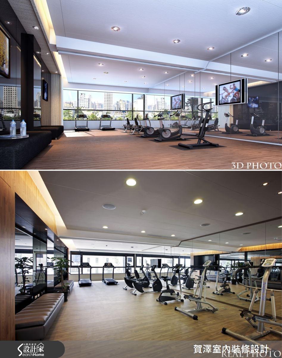 86坪新成屋(5年以下)_現代風案例圖片_賀澤室內設計_賀澤_10之1