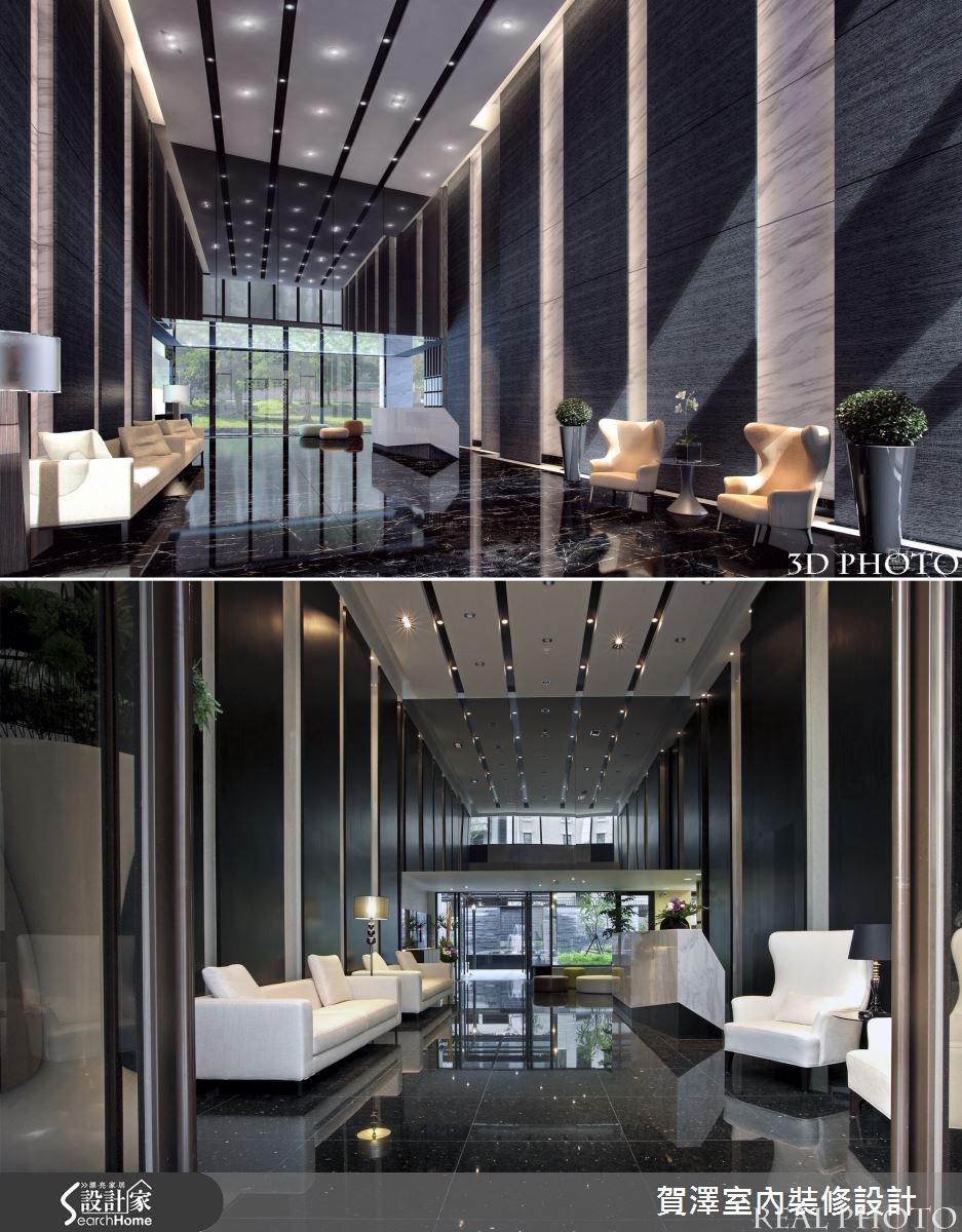 86坪新成屋(5年以下)_現代風案例圖片_賀澤室內設計_賀澤_10之2