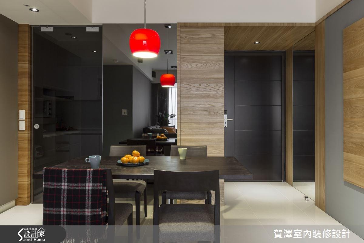30坪新成屋(5年以下)_現代風餐廳案例圖片_賀澤室內設計_賀澤_11之3