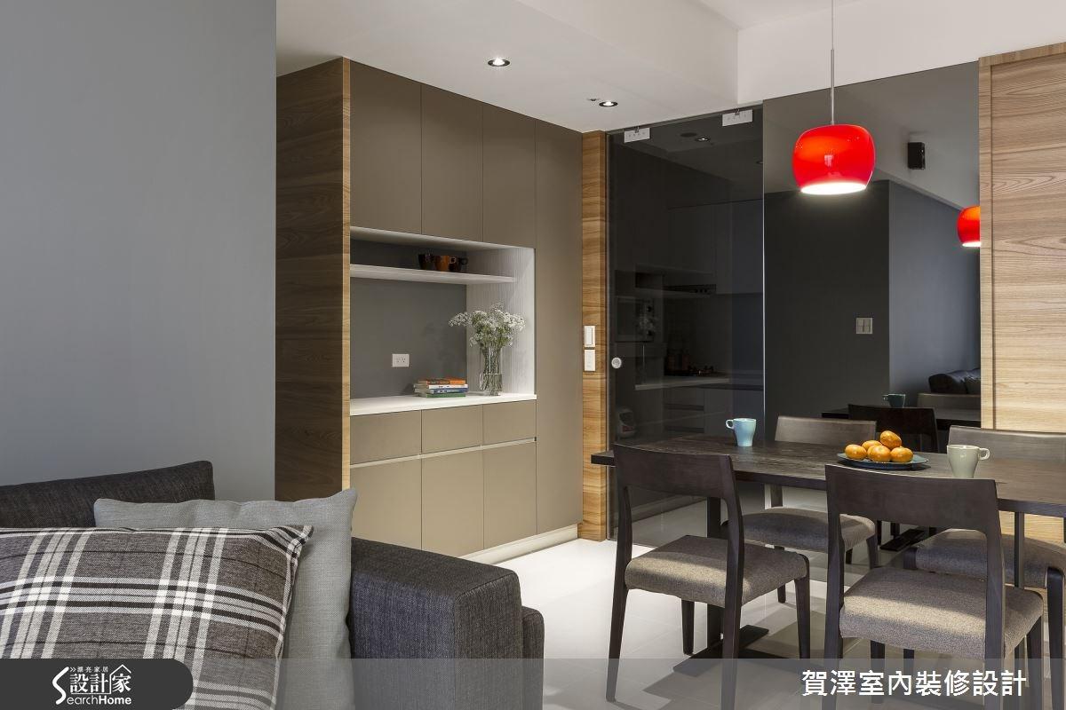 30坪新成屋(5年以下)_現代風餐廳案例圖片_賀澤室內設計_賀澤_11之8