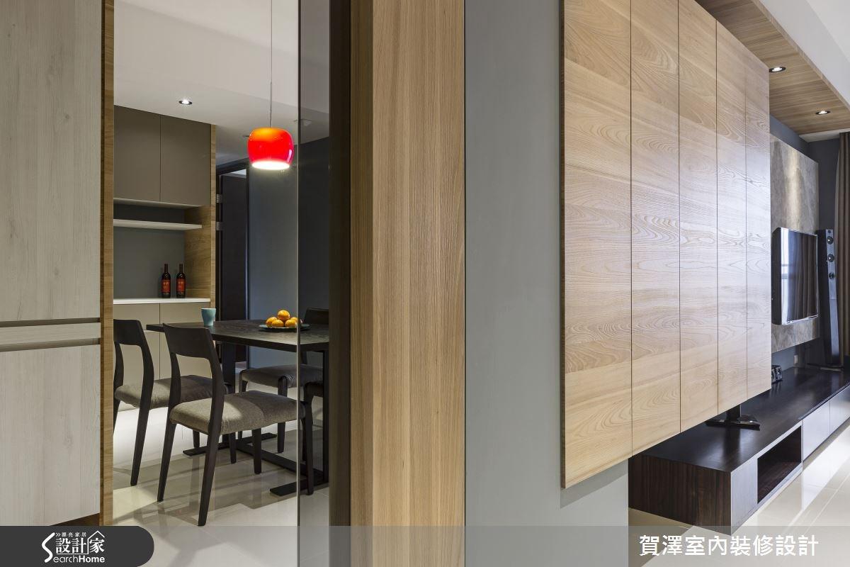 30坪新成屋(5年以下)_現代風走廊案例圖片_賀澤室內設計_賀澤_11之9