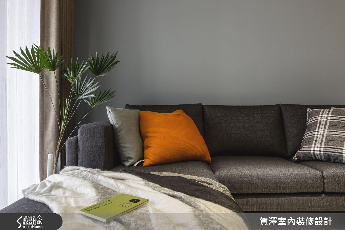 30坪新成屋(5年以下)_現代風客廳案例圖片_賀澤室內設計_賀澤_11之10