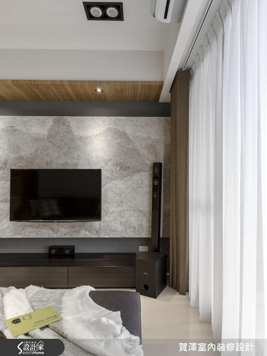 30坪新成屋(5年以下)_現代風客廳案例圖片_賀澤室內設計_賀澤_11之11