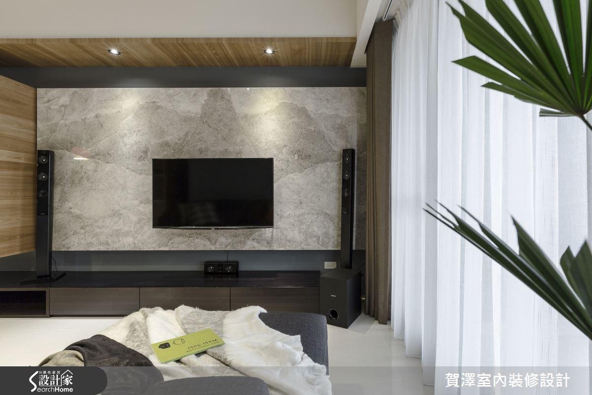 30坪新成屋(5年以下)_現代風客廳案例圖片_賀澤室內設計_賀澤_11之12