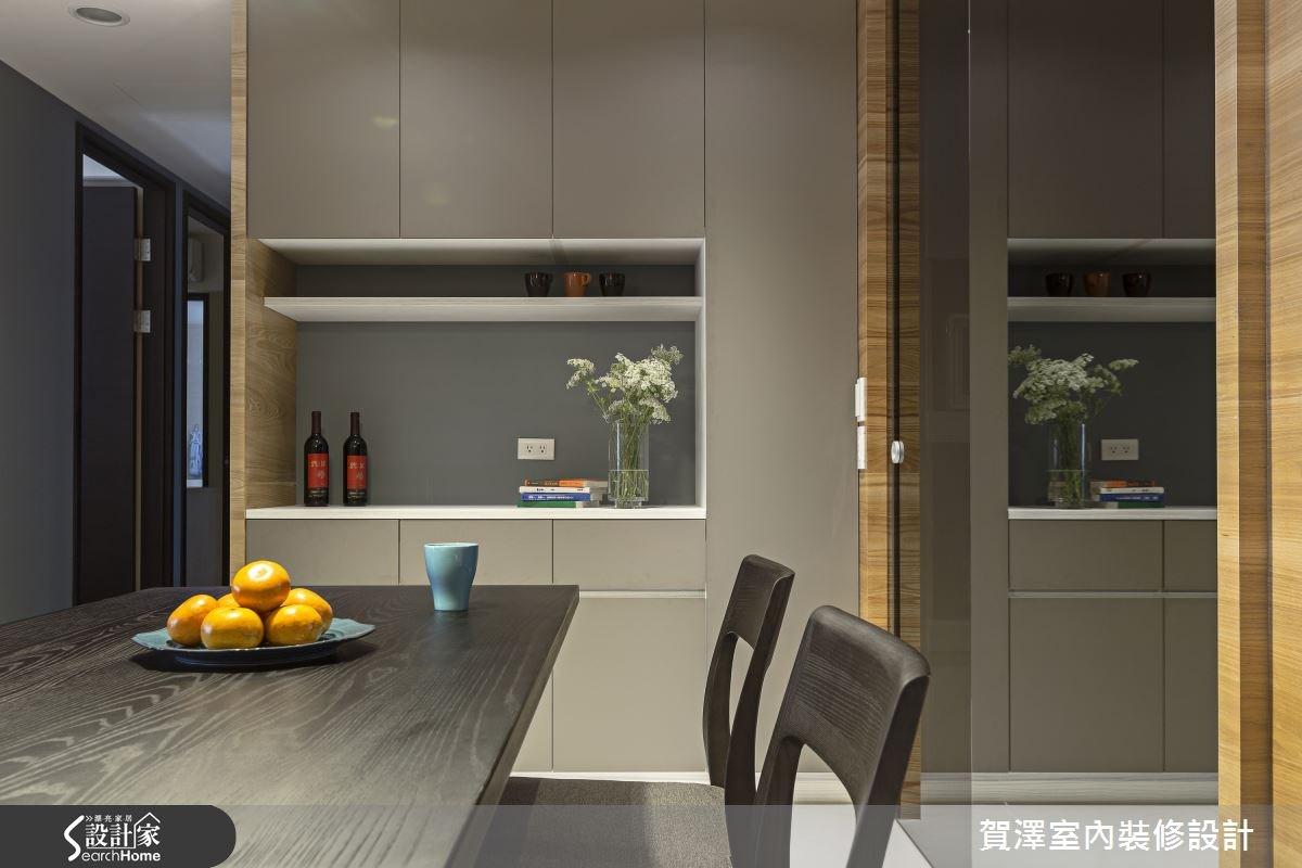30坪新成屋(5年以下)_現代風餐廳案例圖片_賀澤室內設計_賀澤_11之13