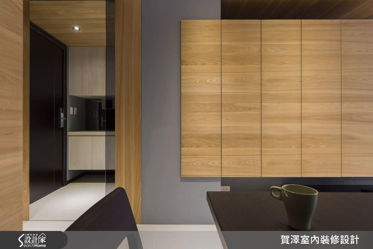 30坪新成屋(5年以下)_現代風玄關走廊案例圖片_賀澤室內設計_賀澤_11之14