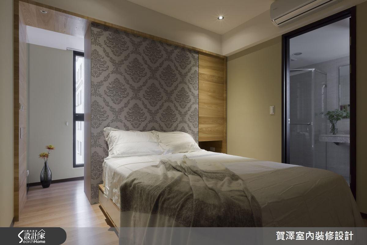 30坪新成屋(5年以下)_現代風臥室浴室案例圖片_賀澤室內設計_賀澤_11之16