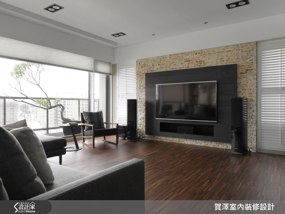 60坪預售屋_現代風客廳案例圖片_賀澤室內設計_賀澤_14之3