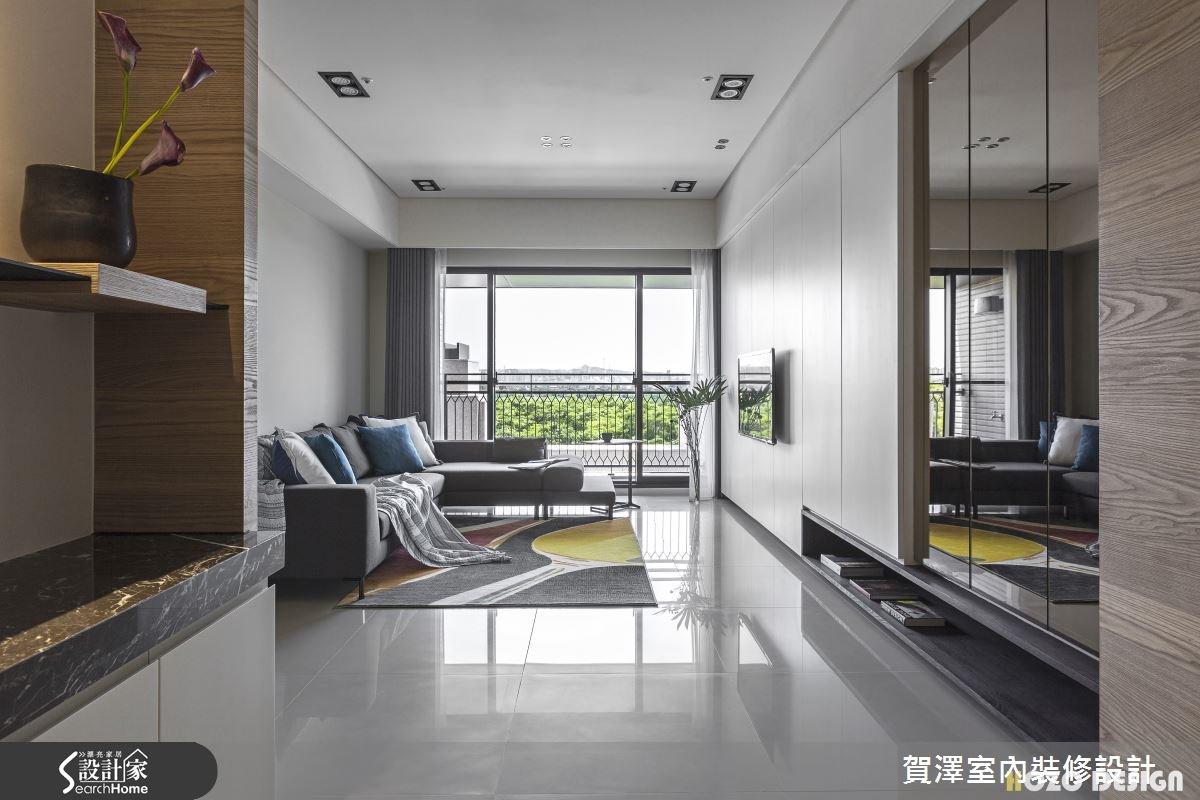 40坪預售屋_現代風客廳案例圖片_賀澤室內設計_賀澤_15之2