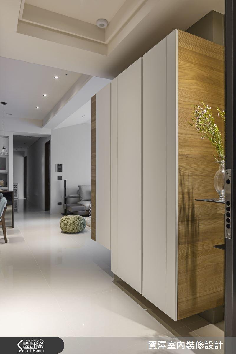 50坪新成屋(5年以下)_現代風走廊案例圖片_賀澤室內設計_賀澤_17之1