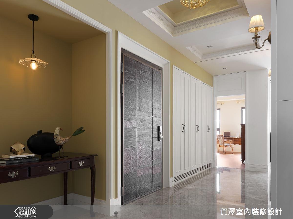 85坪新成屋(5年以下)_美式風走廊案例圖片_賀澤室內設計_賀澤_18之1