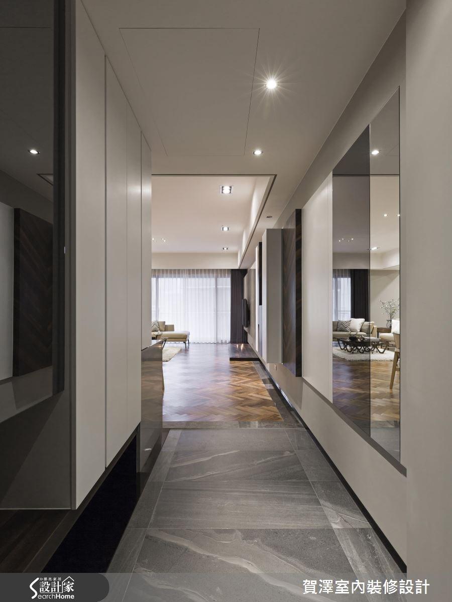 42坪新成屋(5年以下)_奢華風走廊案例圖片_賀澤室內設計_賀澤_19之1