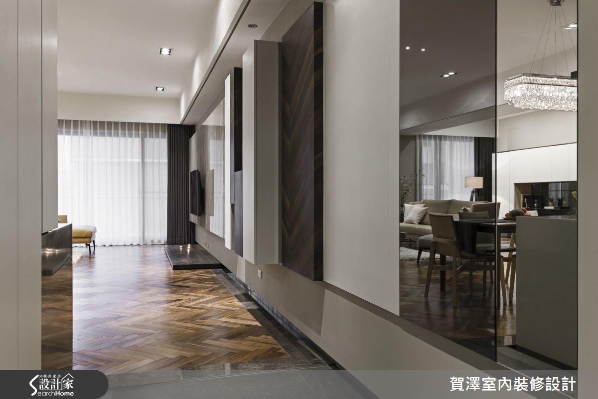 42坪新成屋(5年以下)_奢華風走廊案例圖片_賀澤室內設計_賀澤_19之2