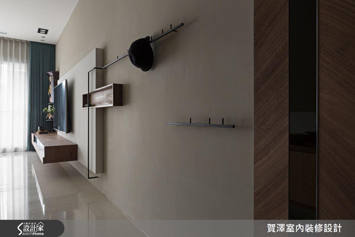 30坪預售屋_人文禪風走廊案例圖片_賀澤室內設計_賀澤_23之3