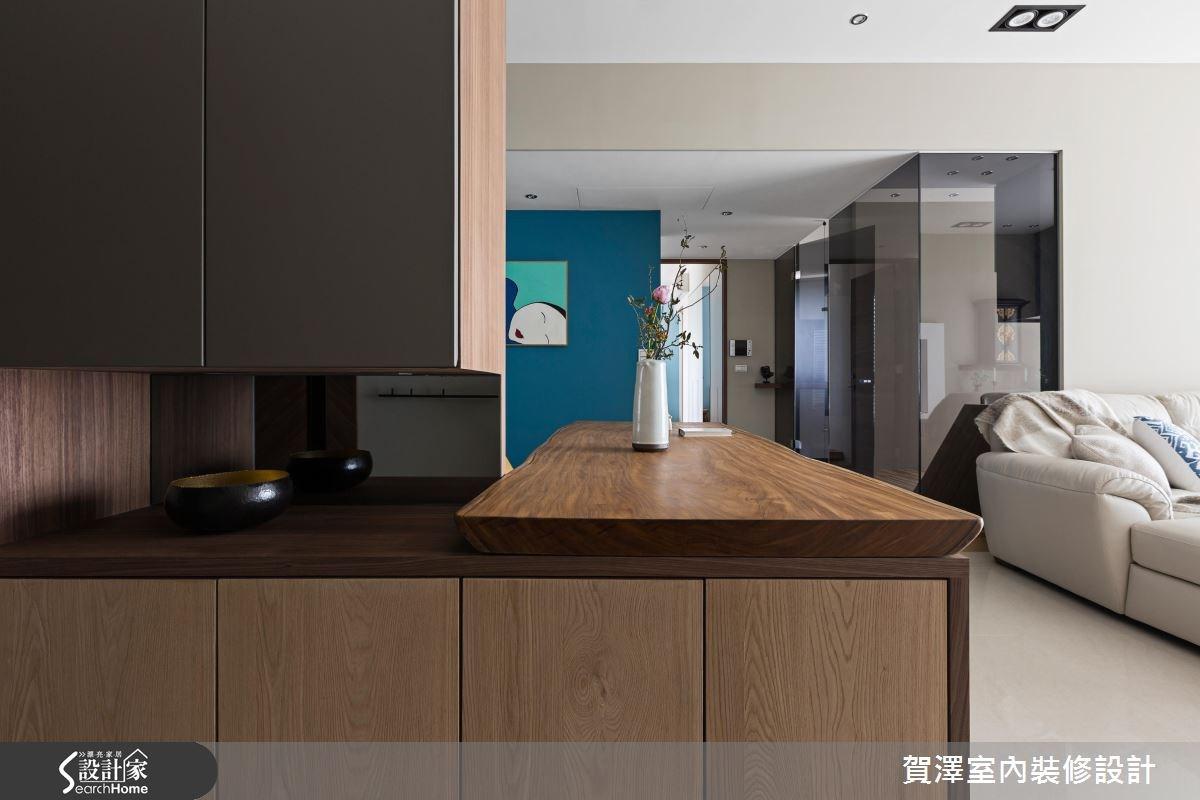 30坪預售屋_人文禪風走廊案例圖片_賀澤室內設計_賀澤_23之4