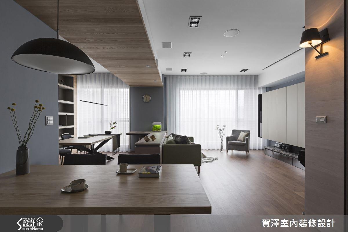 新成屋(5年以下)_現代風客廳餐廳案例圖片_賀澤室內設計_賀澤_24之2