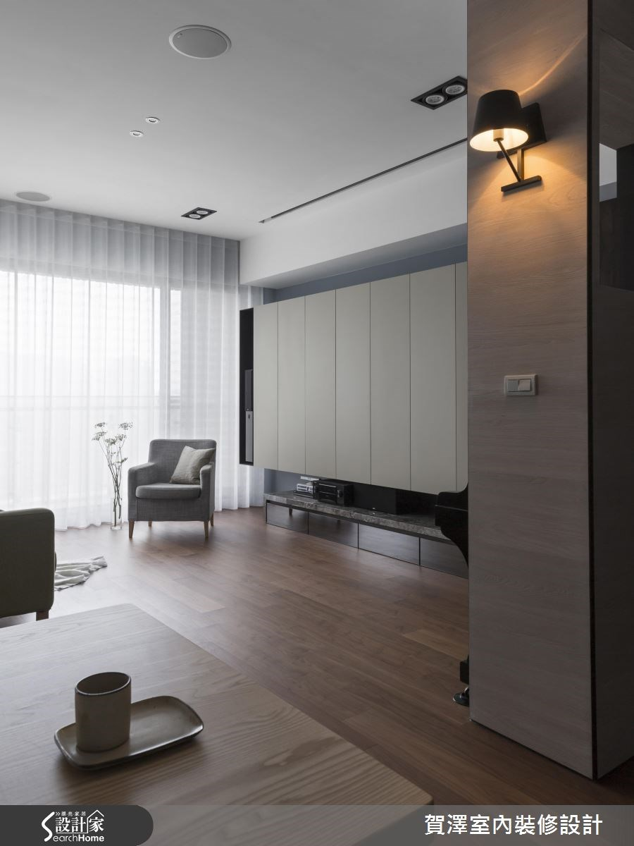 新成屋(5年以下)_現代風客廳案例圖片_賀澤室內設計_賀澤_24之3