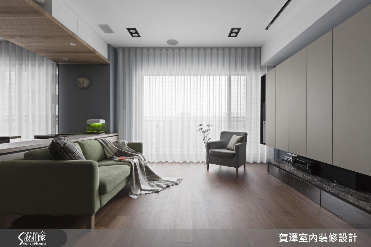 新成屋(5年以下)_現代風客廳案例圖片_賀澤室內設計_賀澤_24之4