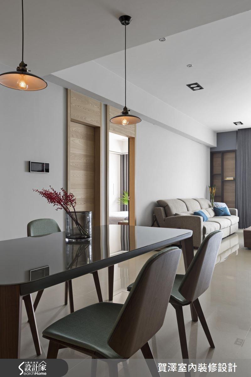 55坪預售屋_現代風餐廳案例圖片_賀澤室內設計_賀澤_25之2