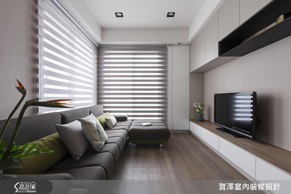 150坪新成屋(5年以下)_新中式風客廳案例圖片_賀澤室內設計_賀澤_26之4