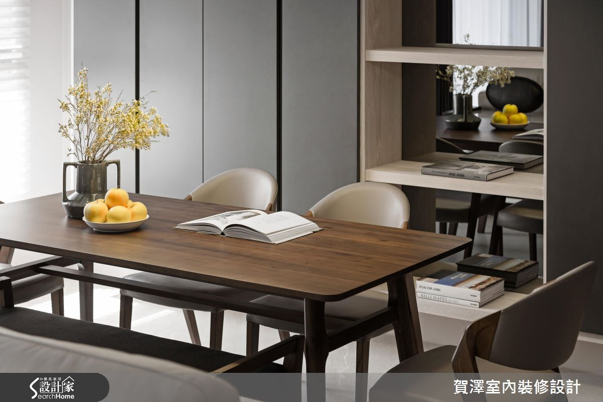 52坪新成屋(5年以下)_奢華風餐廳案例圖片_賀澤室內設計_賀澤_27之4