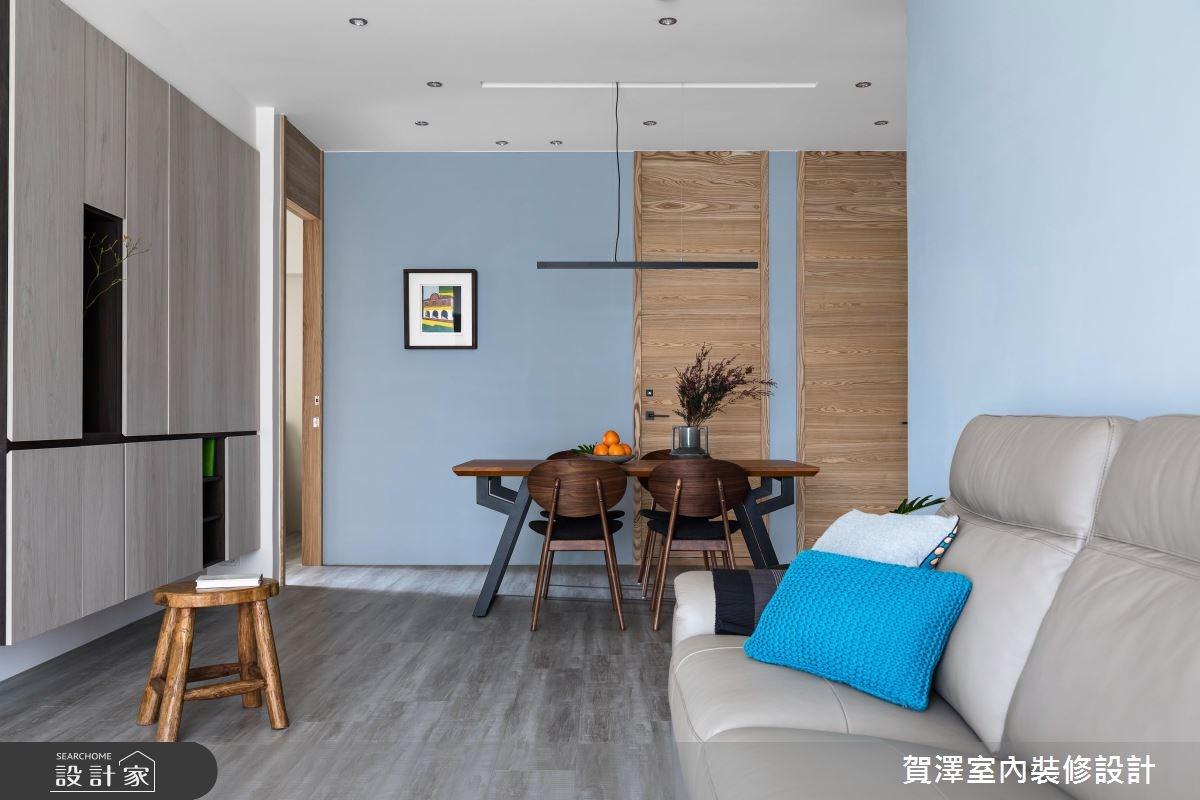 36坪中古屋(5~15年)_現代風餐廳案例圖片_賀澤室內設計_賀澤_29之1