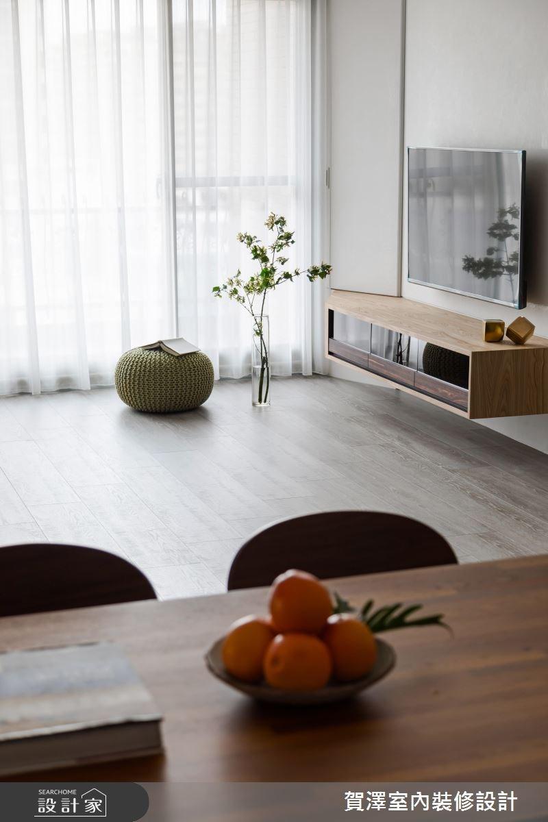 36坪中古屋(5~15年)_現代風客廳案例圖片_賀澤室內設計_賀澤_29之4